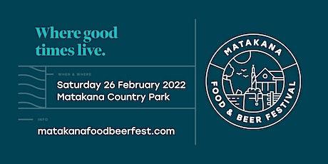 Matakana Food & Beer Festival tickets