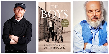 Book Club with Ron Howard and Clint Howard -in-person and virtual! tickets