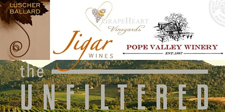 The Unfiltered Collection Wine Tasting tickets