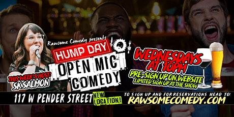 Hump Day Open Mic - Every Wednesday tickets