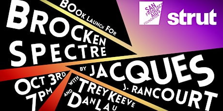 Book Release for Brocken Spectre by Jacques J. Rancourt tickets