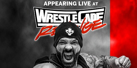 """Meet """"The Chairman of AEW"""" Shawn Spears LIVE at Wrestlecade  Nov. 27th! tickets"""