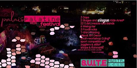 Palais Palatine  - wine & beatz Festival Tickets