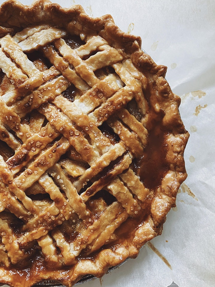 Online Baking Workshop: Caramel Apple Pie From Scratch! image