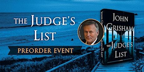 John Grisham Preorder Event tickets
