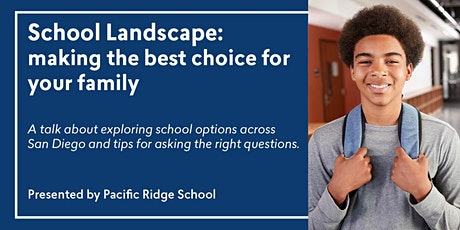 School Landscape: Making the best choice for your family tickets