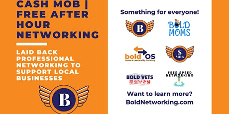 OK | OKC Cash Mob - Free Networking Event  - October 2021 tickets