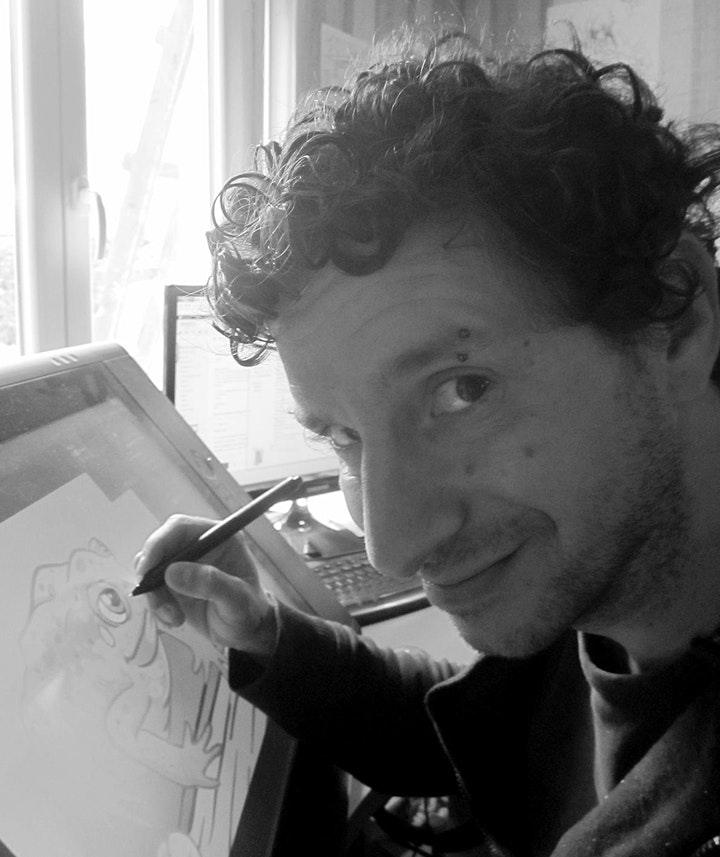Workshop on creating cartoon characters image