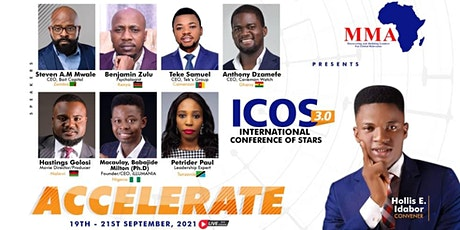 THE INTERNATIONAL CONFERENCE OF STARS 2021 tickets