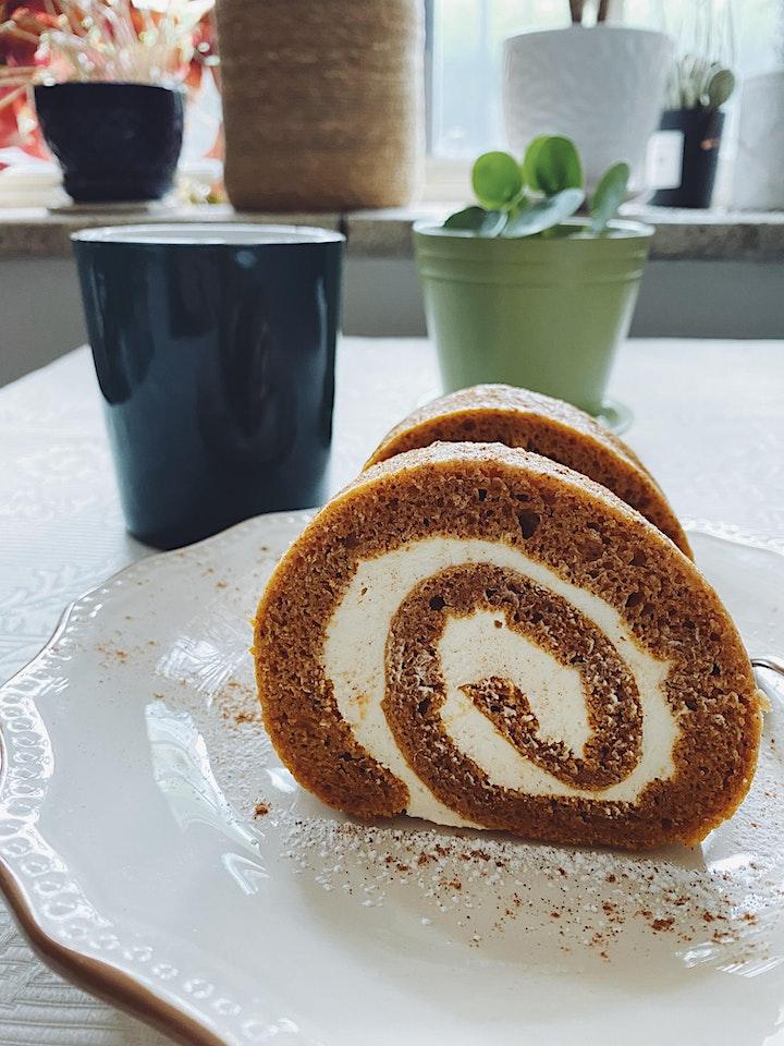 Online Baking Workshop: Spiced Pumpkin Roll image
