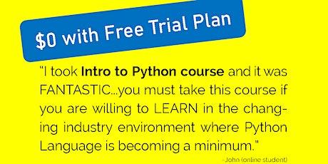 Intro To Python Series tickets