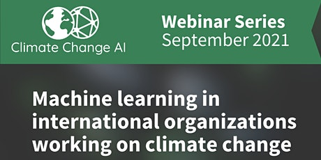 ML in international organizations working on climate change tickets