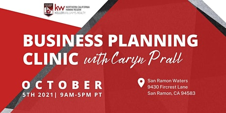 Business Planning Clinic w/Caryn Prall tickets