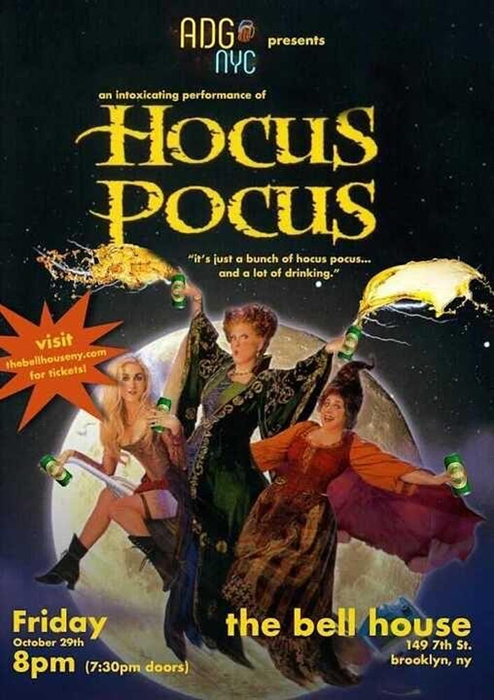 A Drinking Game NYC presents Hocus Pocus image