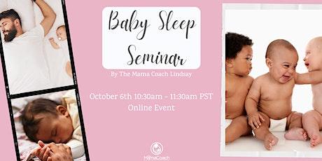 Baby Sleep Seminar tickets