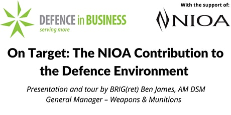 DiB Queensland - On Target:The NIOA Contribution to the Defence Environment tickets