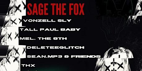 Sage the Fox - St. Petersburg - Presented by Darkaire tickets