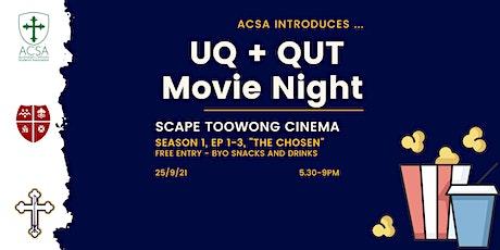 UQ + QUT Movie Night tickets