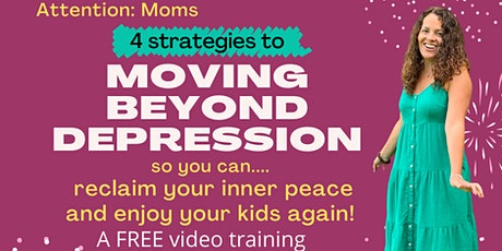 Moving Beyond Depression tickets