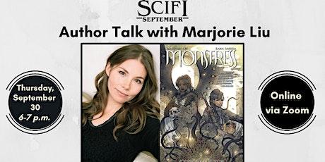 Author Talk with Marjorie Liu tickets