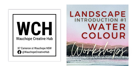 Watercolour Landscapes: a4 week workshop course for $240 total tickets