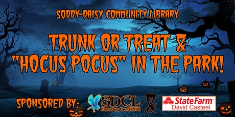 """Trunk or Treat & """"Hocus Pocus"""" in the Park! tickets"""