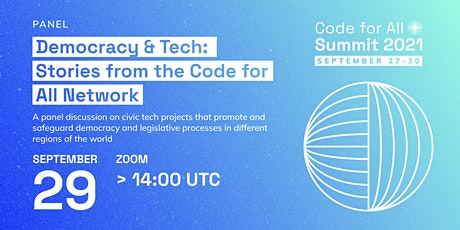 Democracy & Tech: Stories from the Code for All Network tickets