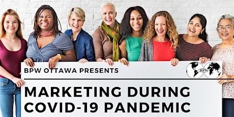 BPW Ottawa September Virtual Meeting - Marketing During COVID-19 Pandemic tickets