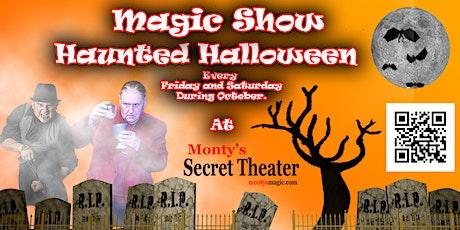 Halloween Magic Show tickets