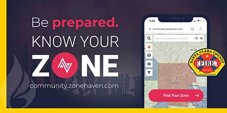 ONLINE: Zonehaven - Know Your Evacuation ZONE! - 2021 tickets
