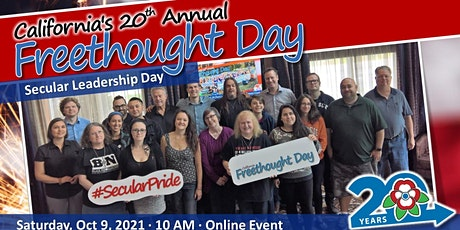 California Freethought Day 2021 - Secular Leadership Day tickets