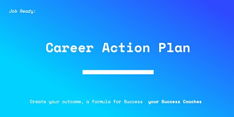 Career Action Plan - Torrens Success Coaches tickets