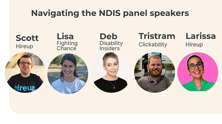 'Navigating the NDIS - Plan Reviews'. An information session by Hireup. image