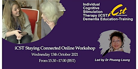 iCST Staying Connected Online Workshop tickets