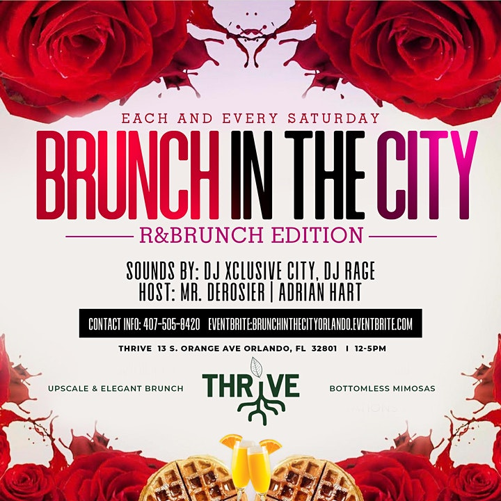 BRUNCH IN THE CITY: R&BRUNCH EDITION image