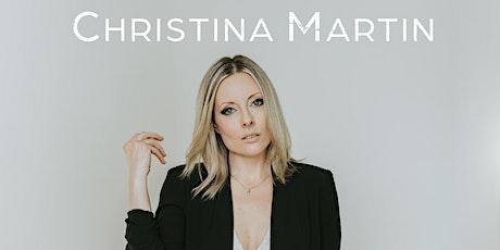 Christina Martin  LIVE at the Oxford Capitol Theatre Nov 6th tickets