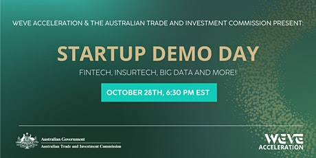 WEVE x AUSTRADE: Startup Demo Day tickets