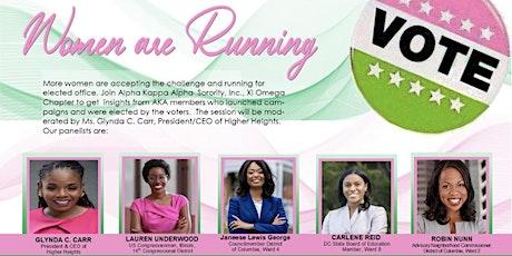 Women are Running tickets