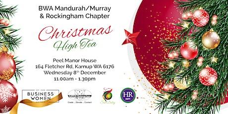 Rockingham & Mandurah/Murray, Business Women Australia: Christmas High Tea tickets