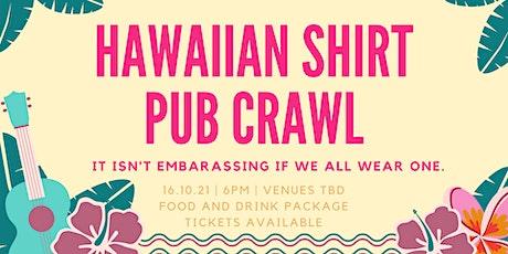 Hawaiian shirts pub crawl tickets