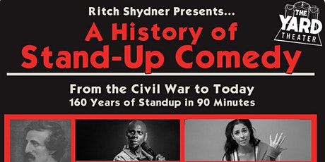 Ritch Shydner Presents: a History of Standup Comedy (Thursday show) tickets