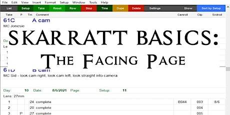 Skarratt Basics: The Facing Page tickets