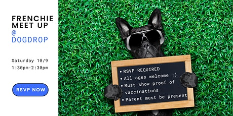 Frenchie Meetup: Saturday Socials at Dogdrop tickets