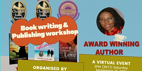 BOOK WRITING AND PUBLISHING WORKSHOP tickets