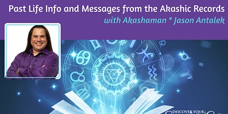 Past Life Info and Messages from the Akashic Records with Akashaman tickets
