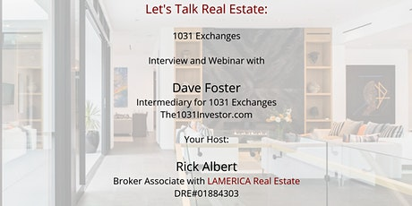 Let's talk about 1031 Real Estate Exchanges Tickets