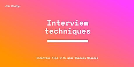 Interview Techniques - Torrens Success Coaches tickets