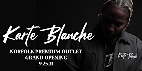 Karte Blanche Grand Opening Brunch tickets