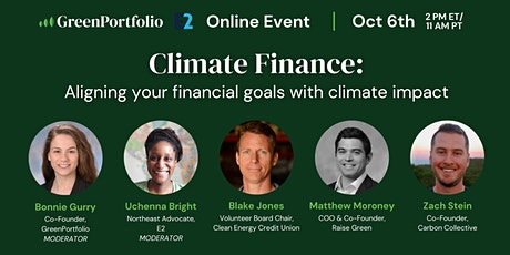 Climate Finance: Aligning your financial goals with climate impact tickets