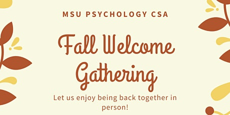 Fall Welcome Gathering tickets